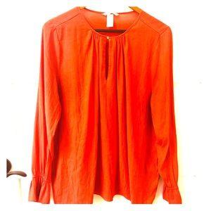 H&M bright  blouse US 14 EUC!!